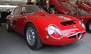 Alfa Romeo Giulia TZ1 Goodwood 2008