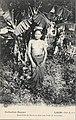 Alfred Raquez-Jeune fille du Bas-Laos dans une forêt de bananiers.jpg