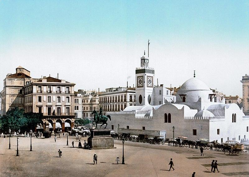 لمحة تاريخية عن بلادي كم 800px-Alger_Place_du_Gouvernement.jpg