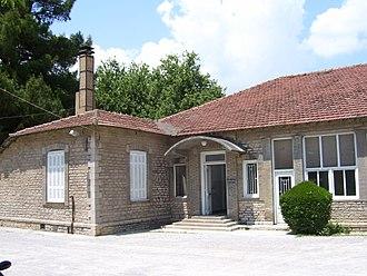 Aliartos - The Copais company building in Aliartos