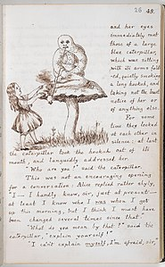 Alice's Adventures Under Ground - Lewis Carroll - British Library Add MS 46700 f26r.jpg