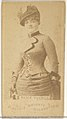 Alice Turner, from the Actors and Actresses series (N45, Type 1) for Virginia Brights Cigarettes MET DP830062.jpg