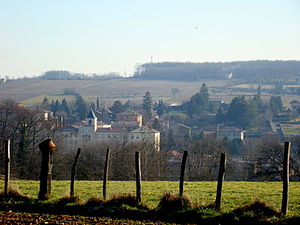 Alix, Rhône - A general view of Alix