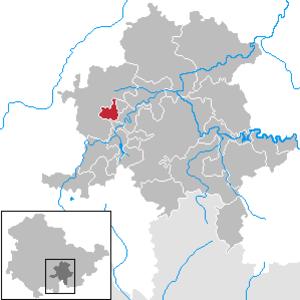 Allendorf, Thuringia - Image: Allendorf in SLF