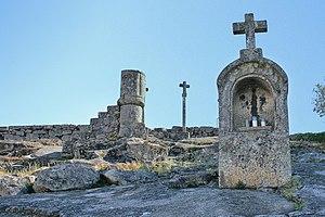 Arouca, Portugal - A symbol of the Christian influence in the region: the Alminhas do Calvário