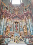 Altar of Immaculata. Church of Saint Francis. Listed ID 41. - Budapest.JPG