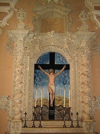 Marittima - Image: Altare del Crocifisso Marittima