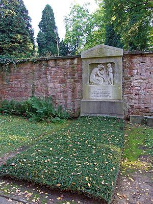 Alois Alzheimer - Alzheimer's grave in Frankfurt