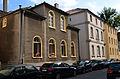 Am Bokemahle 10, 8 und 6, zum Teil villenartig errichtete Gebäude, in der Mitte das Lönshaus in Hannover-Südstadt.jpg