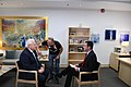 Ambassador Friedman interviews to Ch10 and Ch 2 (27433272047).jpg