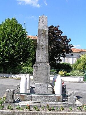 Ambleville, Charente - War Memorial