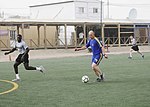American and Bosnian soldiers play friendly soccer match in Kandahar, follow up with US vs. Bosnia and Herzegovina game 130814-A-IX573-040.jpg