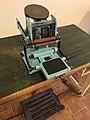 Ampulas printer machine Grauel in exposition History of making of drugs in Kuks Hospital in Kuks, Trutnov District.jpg