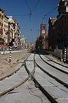 Amsterdam, tramvajová rekonstrukce.jpg