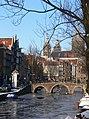 Amsterdam - Oudezijds Voorburgwal - to Sint-Niklaaskerk.JPG