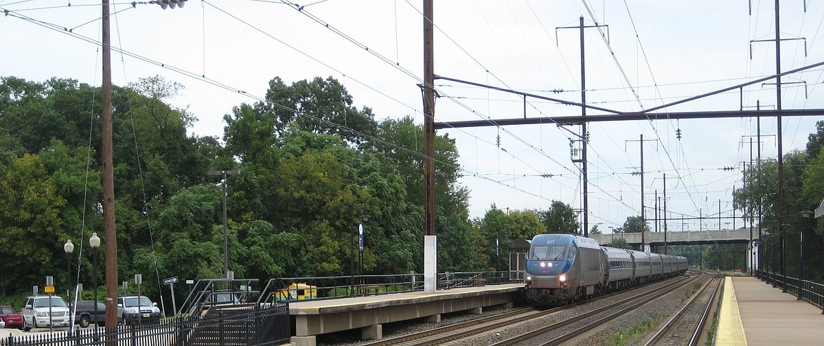 New York Safety Track >> Amtrak's 25 Hz traction power system - Wikipedia