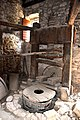Ancient oil press in olive oil production workshop in Trsteno 11.jpg