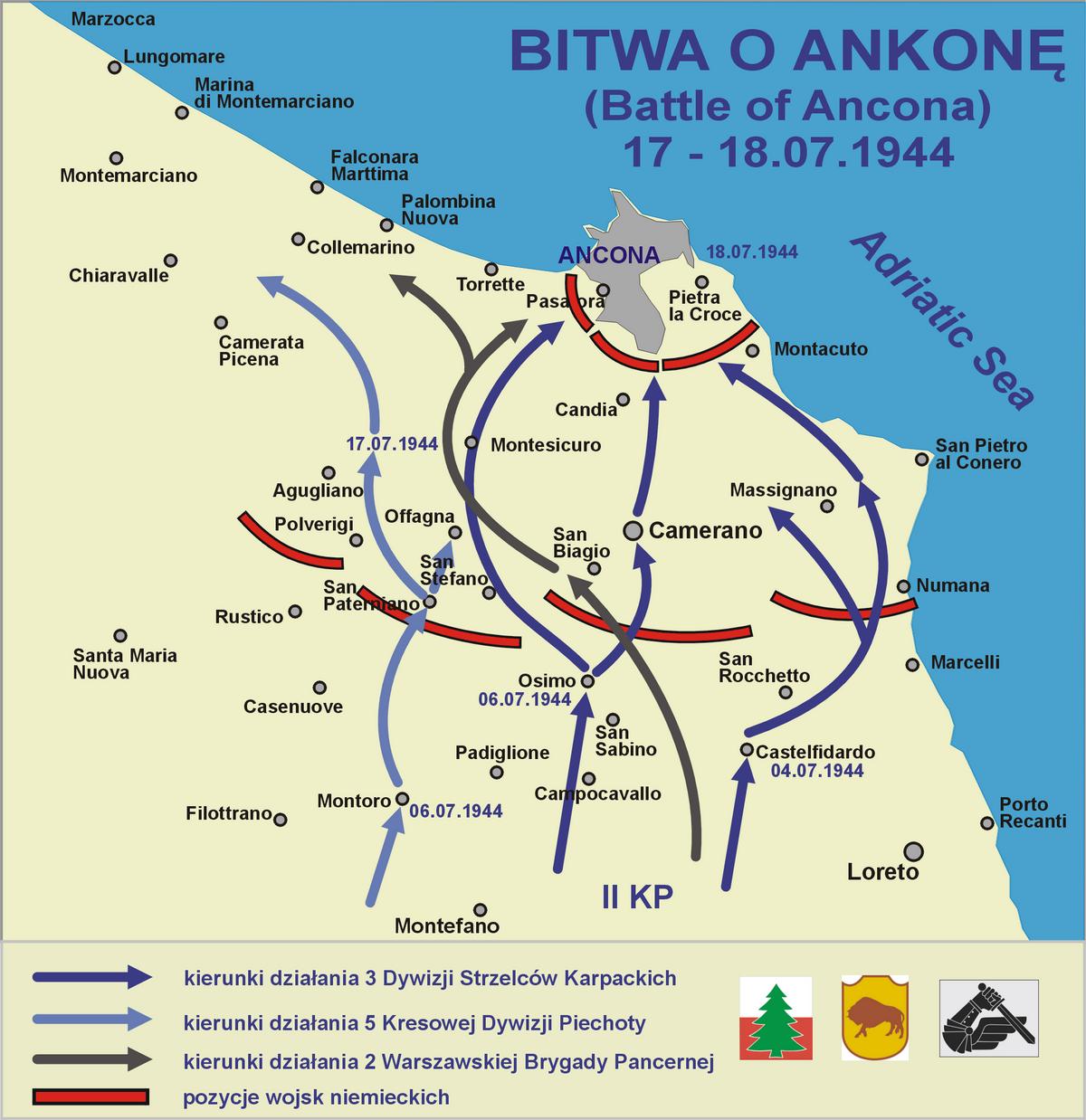 Сражение за Анкону — Википедия