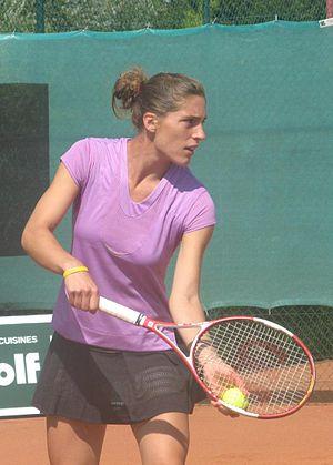 Andrea Petkovic beim mit 75.000$ dotierten ITF...