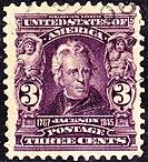 Andrew Jackson, 3¢