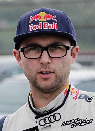 Andrew Jordan (racing driver) - Andrew Jordan at the 2015 World RX of Italy