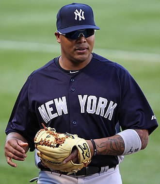 Andruw Jones - Jones with the Yankees in 2011