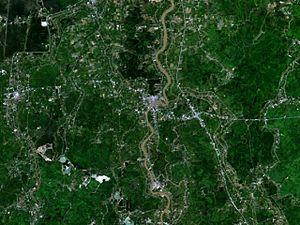 Ang Thong - Image: Ang Thong 100.45010E 14.58332N