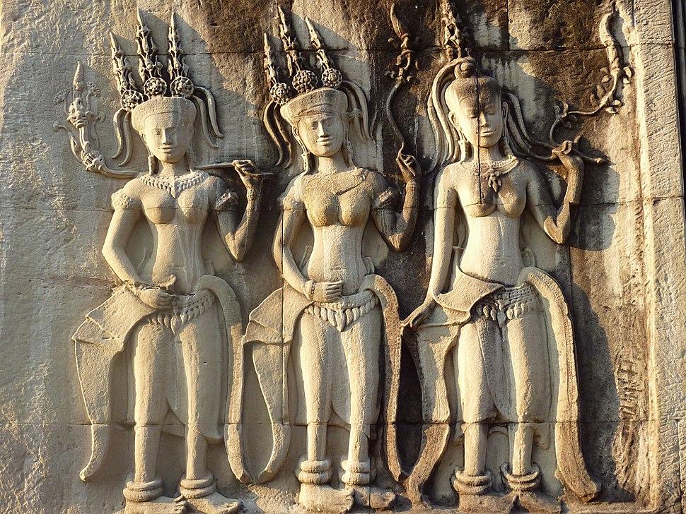 Angkor Wat - 050 Apsaras (8580603733)