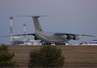 National Air Force of Angola - A Ilyushin Il-76 of the Angolan Air Force