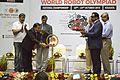 Anil Shrikrishna Manekar Lighting Lamp - Inaugural Session - Indian National Championship - WRO - Kolkata 2016-10-23 1240.JPG