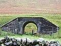 Animal Underpass...beneath disused Railway - geograph.org.uk - 1532665.jpg