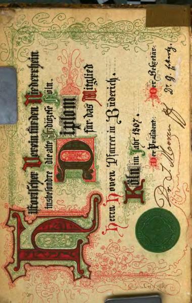 File:Annalen des Historischen Vereins für den Niederrhein 18 (1867).djvu