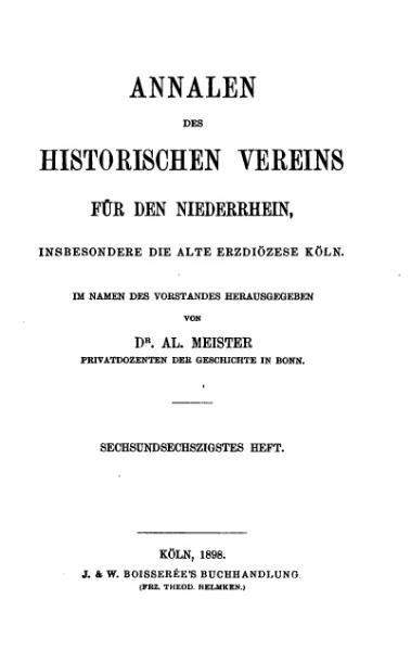 File:Annalen des Historischen Vereins für den Niederrhein 66 (1898).djvu
