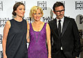 Anne-Sophie Bion, Penelope Ann Miller, Michel Hazanavicious.jpg