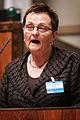 Anne Margrethe Larsen, Venstre (V) Norge, talar vid Nordiska radets session i Helsingfors 2008-10-27.jpg