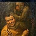 Annibale carracci, ritratto d'uomo con scimmia, 1588-90, 02.jpg