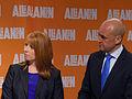 Annie Lööf och Fredrik Reinfeldt, 2013-09-09 06.jpg