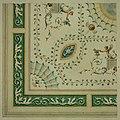 Anoniem, Detailontwerp voor de versiering van een plafond in neo-classicistische stijl - Ébauche détaillée de décoration d'un plafond dans le style néoclassique, KBS-FRB (CVH 475-4).jpg