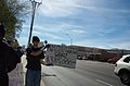 Anonymous protests Scientology in Phoenix on February 10th 14.jpg