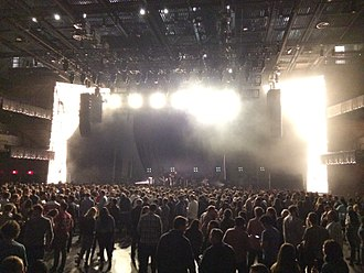 The Anthem (music venue) - The Anthem stage on October 16, 2017, before Phoenix's performance.