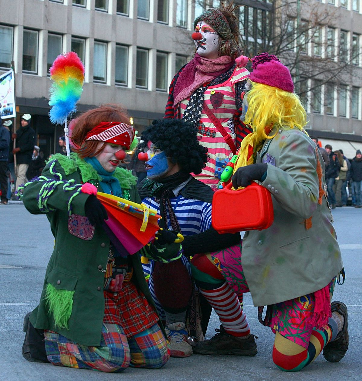 Clandestine Insurgent Rebel Clown Army Wikipedia