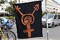 Antifascist protest next to Mauerpark Berlin 2020-05-30 04.jpg