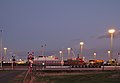 Antwerp Euroterminal NV during sunset civil twilight in Kieldrecht, Belgium (DSCF3937).jpg
