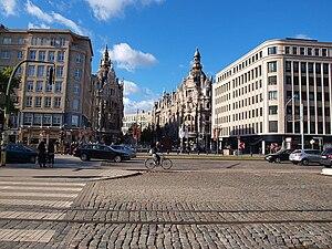 Antwerp diamond district - Diamond district