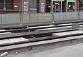 Anzin & Valenciennes - Travaux de raccordement des lignes A & B du tramway de Valenciennes à la Croix d'Anzin le 9 août 2013 (08).JPG