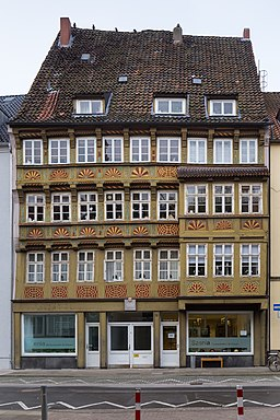 Apartment house Burgstrasse 12 Mitte Hannover Germany 02