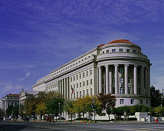 Federal Trade Commission - Apex Building, built in 1938 (FTC headquarters) in Washington, D.C.