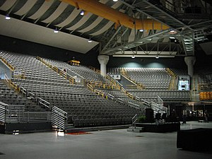 George M. Holmes Convocation Center - Inside the Holmes Center