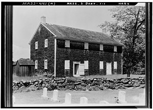 English: Apponogansett Meeting House, Dartmout...