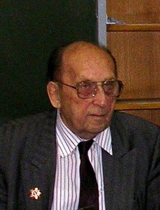 Georgy Arbatov - Arbatov in 2005
